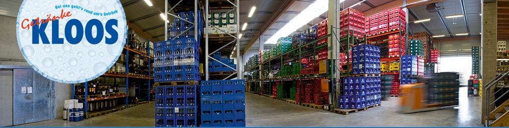 Kloos Getränkevertrieb GmbH - Startseite